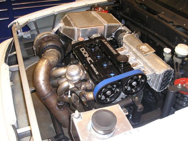Vr4 Engine Bay Completed Engine Bay Shot